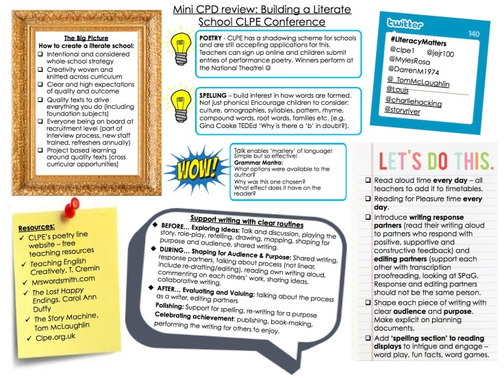 CPD MINI REVIEW - Building a Literate School
