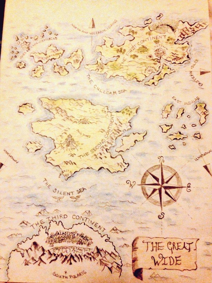 Vashti Hardy Brightstorm Map